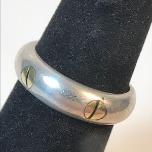 TB-14 Mexico 925 vintage sterling size 6 ring